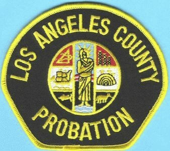 The LA County Probation insignia.