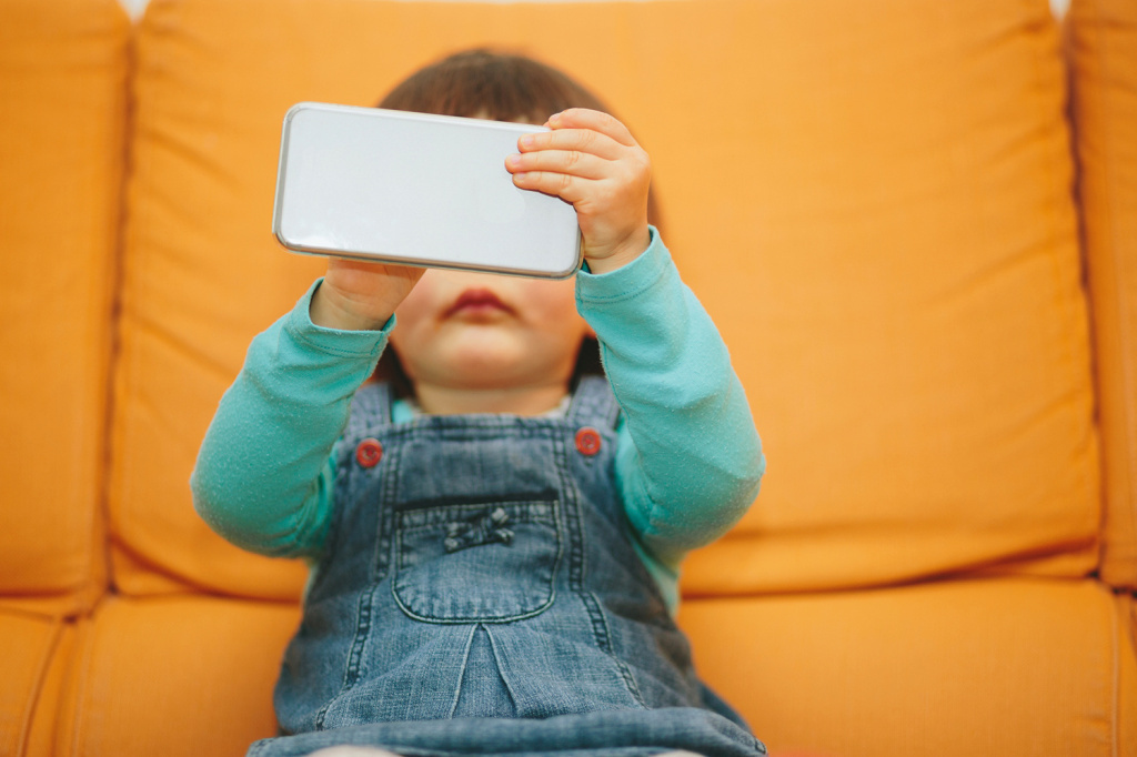 While kids under 8 still spend most of their screen time looking at TV, the amount of time they spend with mobile devices has tripled since 2013.