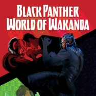 Promotional art for Black Panther: World of Wakanda. The series will be co-written by Ta-Nehisi Coates and Roxane Gay