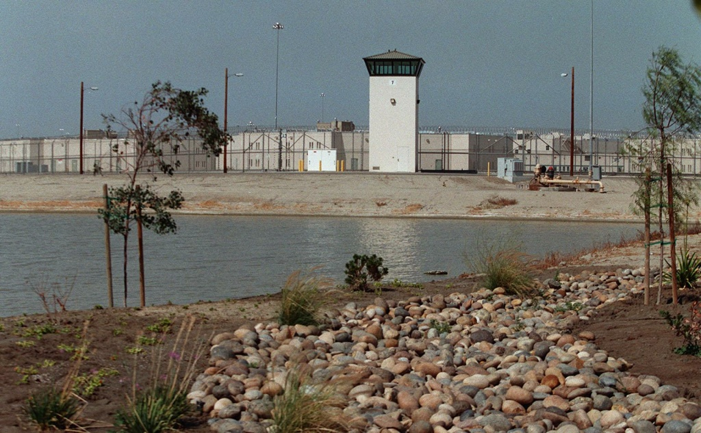 A correctional facility in Corcoran, Calif.