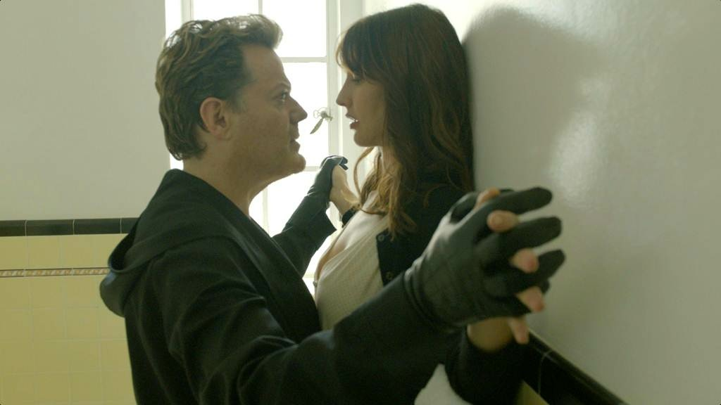 Eddie Izzard (left) and Alexia Landeau star in the indie-film