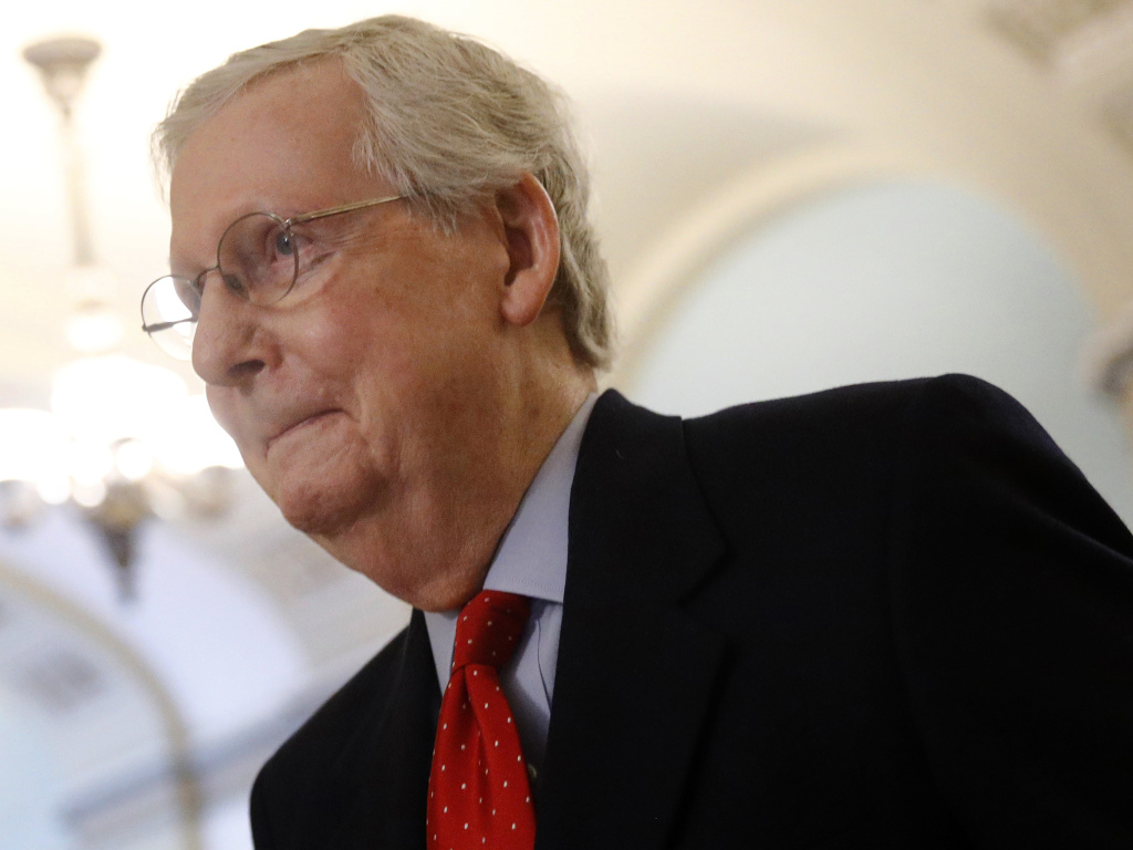 Senate Majority Leader Mitch McConnell, R-Ky., and the GOP majority have confirmed 200 judicial nominees by President Trump. It's a program that will affect U.S. law for decades.
