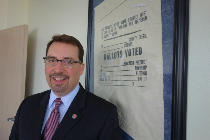 Dean Logan, who heads the Registrar-Recorder's office of Los Angeles County, is leading a crowdsourced effort to reinvent the way votes are cast and counted in the nation's largest voting jurisdiction