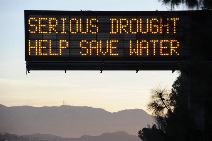 US-CALIFORNIA-WATER-DROUGHT