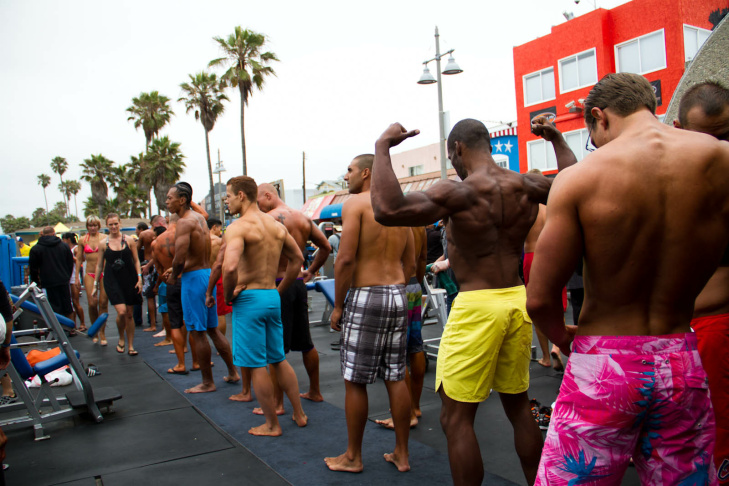4th of July Muscle Beach