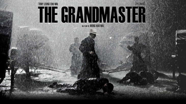 Poster art for Wong Kar Wai's martial arts epic film, The Grandmaster