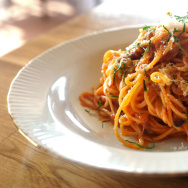 In Italy and the U.S., restaurants are pledging to use sales of Amatrice's signature dish, spaghetti all' amatriciana, to raise funds for the devastated Italian town.