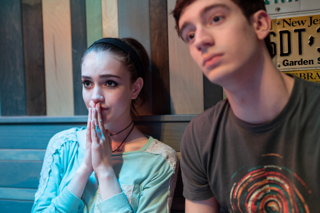 Talia Ryder and Théodore Pellerin in