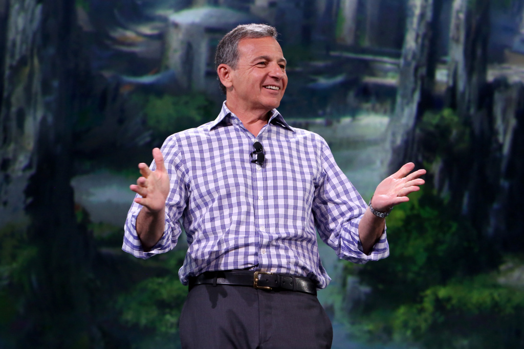 The Walt Disney Company Chairman and CEO Bob Iger, currently at the center of a public dialogue about executive compensation.