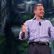 "The Walt Disney Company Chairman and CEO Bob Iger took part today in ""Worlds, Galaxies, and Universes: Live Action at The Walt Disney Studios"" presentation at Disney's D23 EXPO 2015 in Anaheim, Calif."