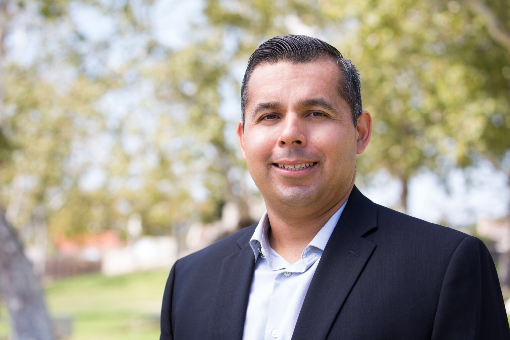 Sergio Farias was elected in November 2016 to represent San Juan Capistrano's newly drawn District 1 on city council.