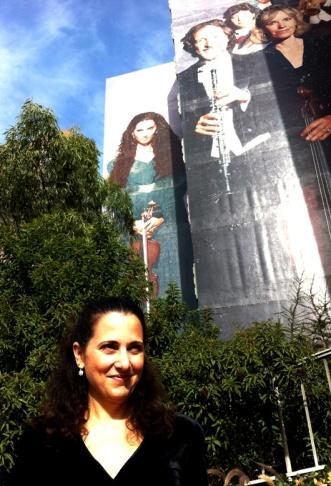 Building mural dedicated to Danny Trejo in his hometown of Pacoima, Ca.