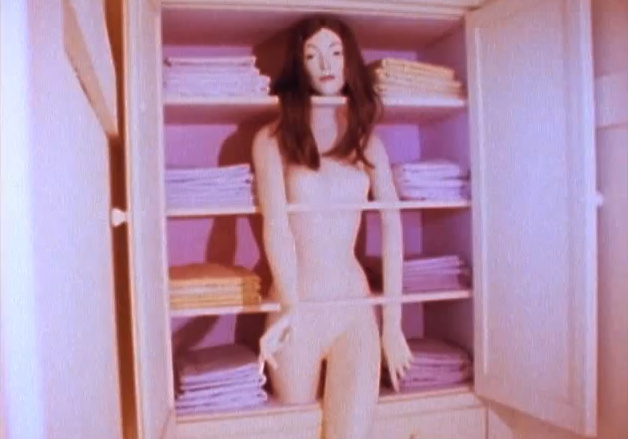 "Sandy Orgel's ""Linen Closet"" in Womanhouse."