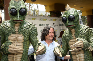 Director Brad Silberling attends Universal Pictures and Subway restaurant's transformation of a local restaurant into 'Land of the Lost', Universal Pictures' new film on May 28, 2009 in Santa Monica, California.