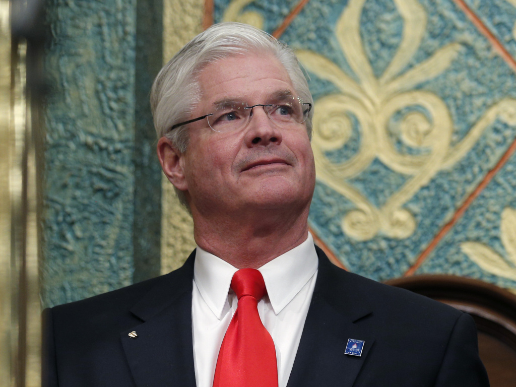 Michigan state Senate Majority Leader Mike Shirkey was caught on video calling the Jan. 6 attack on the U.S. Capitol a