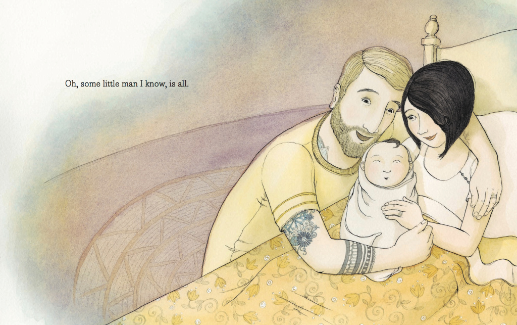 """Tell me a Tattoo Story"" by Allison McGhee and illustrations by Eliza Wheeler."
