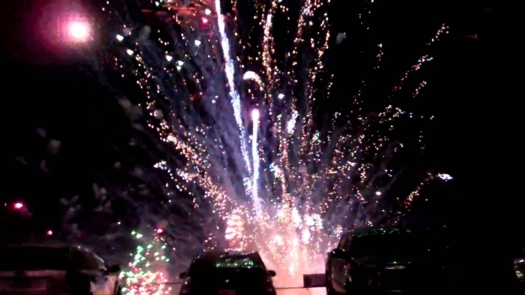 A Simi Valley fireworks display that went awry.