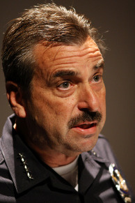 "LAPD Chief Charlie Beck: ""people should be upset"" about wasting police resources on crank calls."