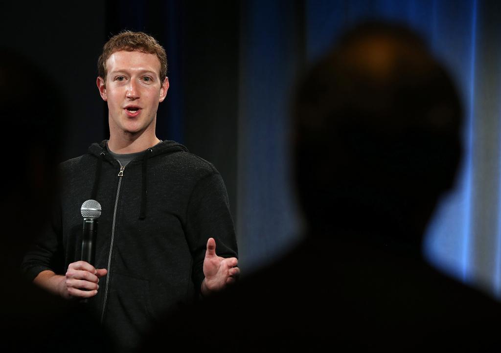 Facebook CEO Mark Zuckerberg speaks during an event at Facebook headquarters on April 4, 2013 in Menlo Park, California.