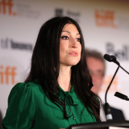 Jury member visual artist Floria Sigismondi speaks onstage during the TIFF Awards Brunch during the 2014 Toronto International Film Festival.