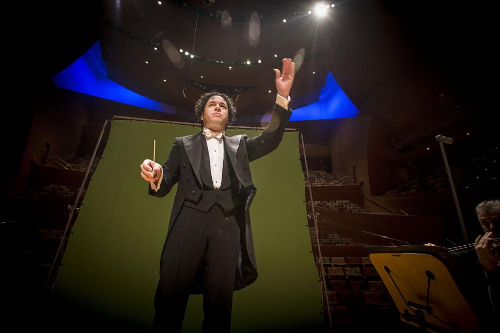 LA Phil conductor Gustavo Dudamel