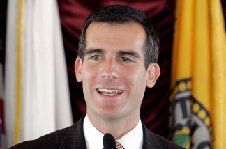 Los Angeles City Councilman Eric Garcetti is working on a proposal to eliminate the city's gross receipts tax.