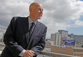 """I have an insider's knowledge, but an outsider's mind,"" former California governor Jerry Brown says."