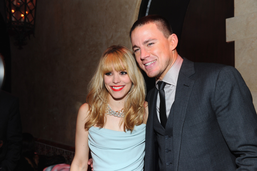 Actors Rachel McAdams and Channing Tatum attend the after party for the premiere of Sony Pictures' 'The Vow' at Grauman's Chinese Theatre on February 6, 2012 in Hollywood, California.