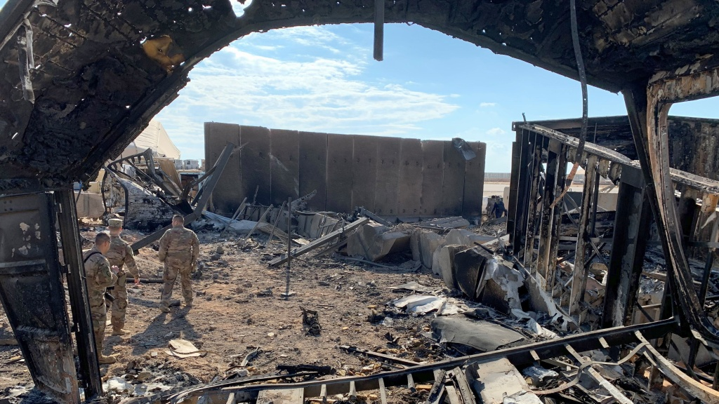The Iranian missile strikes earlier this month caused extensive damage at the Ain al-Asad air base, northwest of Baghdad. President Trump said immediately after the attack that there was