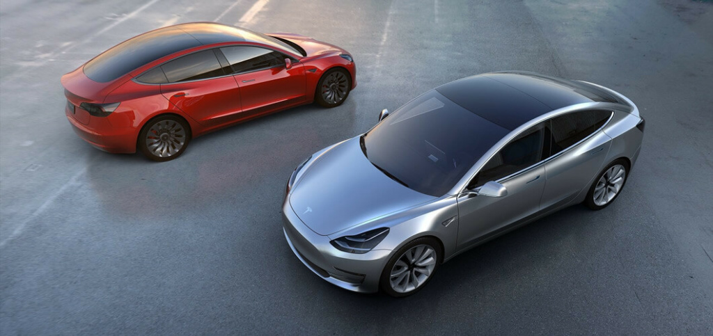 The Tesla Model 3 goes into production July 7, 2017