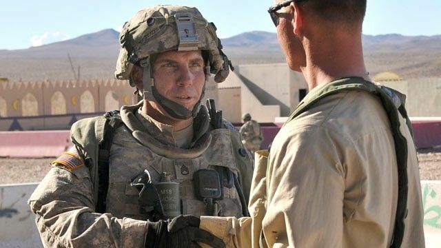 Staff Sgt. Robert Bales (L) is now in U.S. custody.