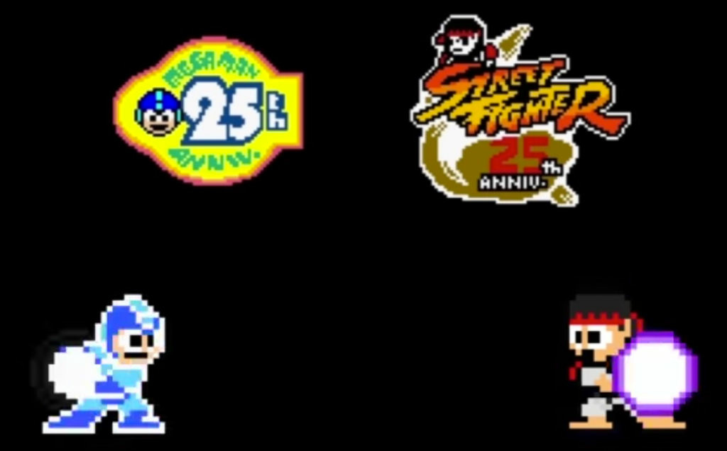 Capcom brings two of their classic video game franchises together in Street Fighter X Mega Man.