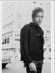 Bob Dylan, from the photo shoot for Another Side of Bob Dylan, 1964