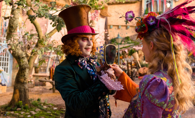 Johnny Depp and Mia Wasikowska star in,