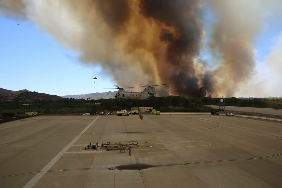 San Mateo (Combat) Fire