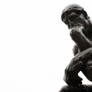"""The Thinker"" by French sculptor Auguste"