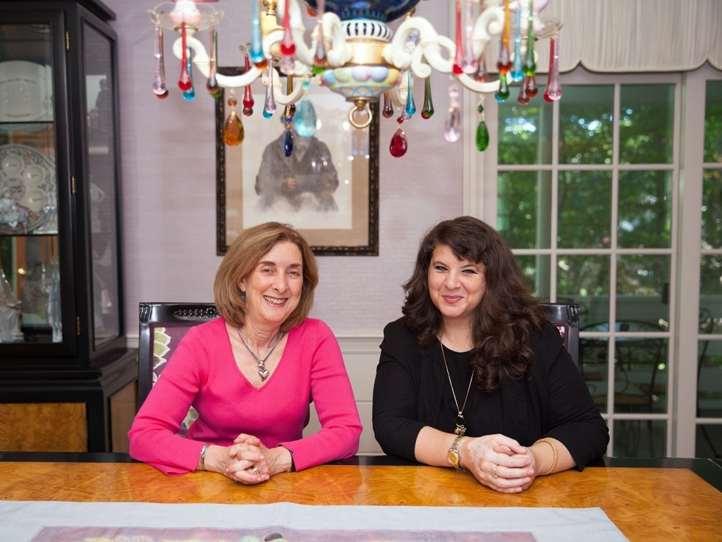 Sheryl Olitzky (left) and Atiya Aftab founded the Sisterhood of Salaam Shalom in 2010. It has since grown to more than 150 chapters across the U.S. and in Berlin.