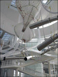 Hawkinson's Uberorgan makes its first West Coast appearance at the Getty Museum.