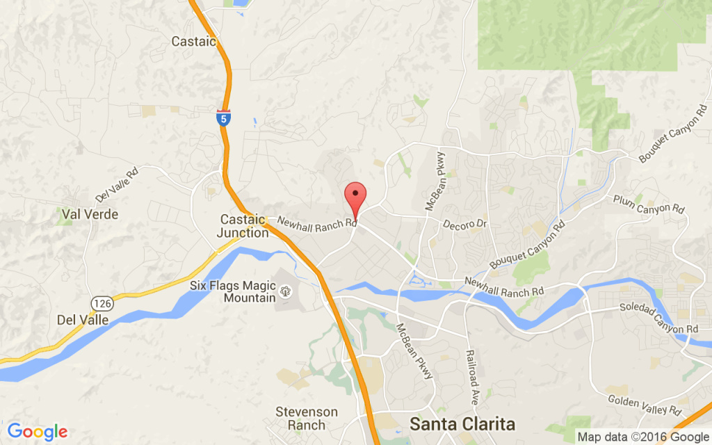 Santa Clarita Brush Fire Map.Santa Clarita Fire Burns 33 Acres 65 Percent Contained 89 3 Kpcc