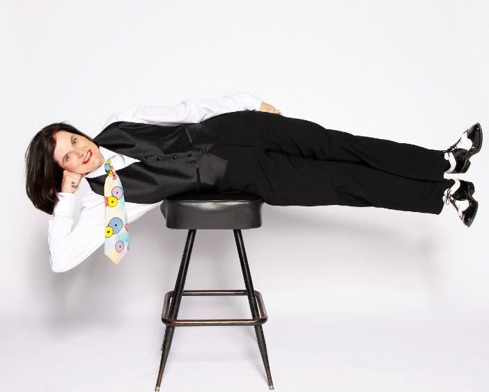 Comedian Paula Poundstone.