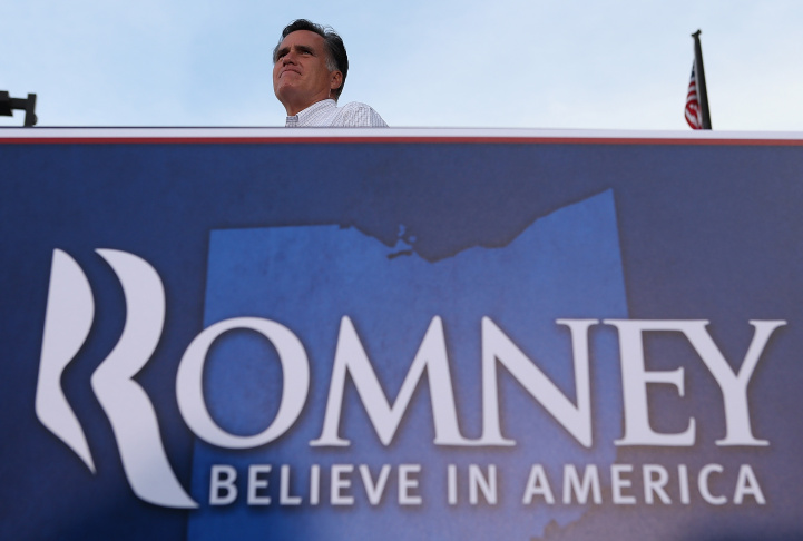 Mitt Romney Finishes His Four Day Bus Tour In Ohio