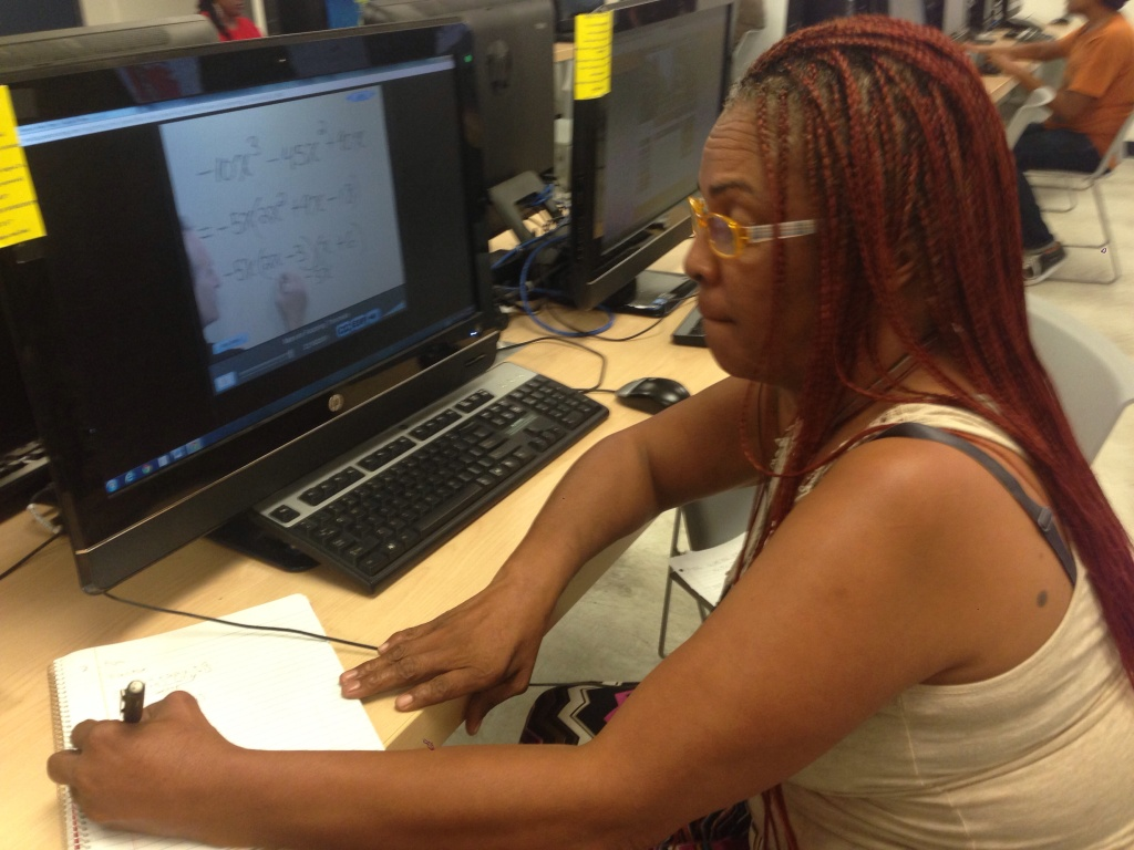 L.A. Southwest College student Cheryl Watson has used new tutoring resources to finish her studies.