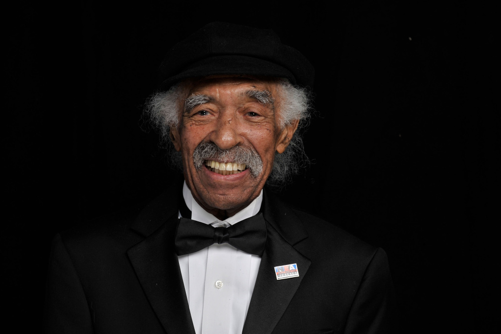 Musician Gerald Wilson poses for a portrait during the 41st NAACP Image awards held at The Shrine Auditorium on February 26, 2010 in Los Angeles, California.