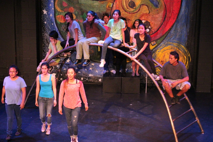 "CAP and Plaza de la Raza's production of ""Unaccompanied Alien Children, Estimated Time of Arrival, To Be Determined."""