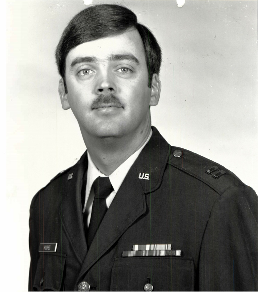 Capt. William Howard Hughes Jr. was formally declared a deserter by the Air Force on Dec. 9, 1983. He was apprehended June 6, 2018, by Air Force Office of Special Investigations special agents and is awaiting pretrial confinement at Travis Air Force Base, Calif.