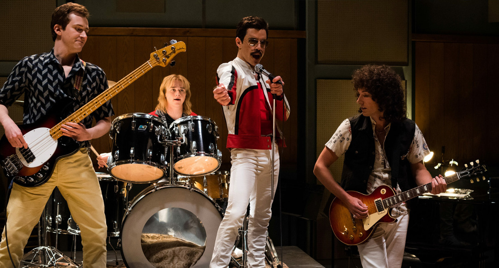 Rami Malek, Gwilym Lee, Ben Hardy, & Joseph Mazzello star as the band Queen in 20th Century Fox's