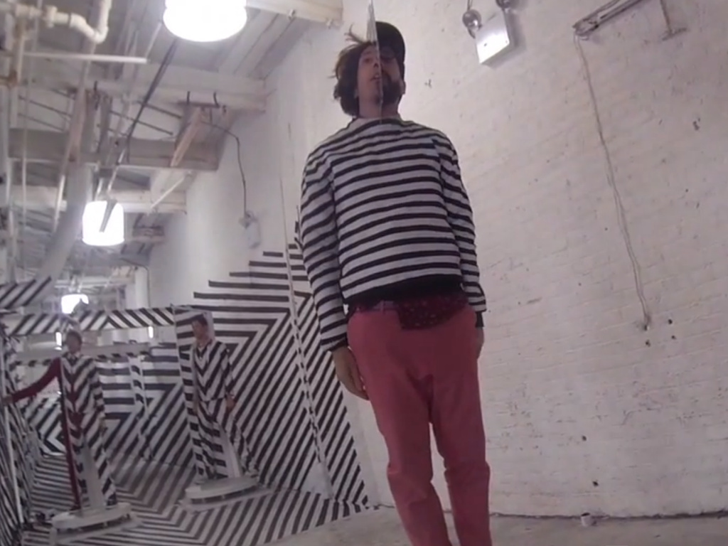 A behind the scenes look at OK Go making their video