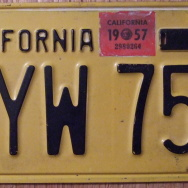 Slideshow: DMV bringing back California's black and yellow license