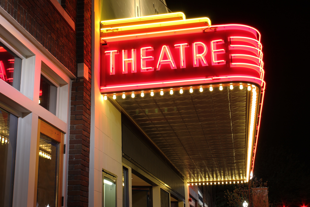 theater marquee movies