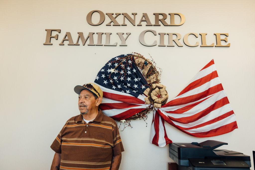 Army veteran Frank Acosta attends the Oxnard Family Circle Adult Day Healthcare program.